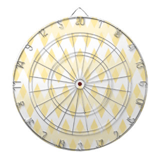 Modelo de zigzag amarillo cremoso con formas del d