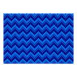 Modelo de zigzag azul
