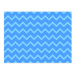 Modelo de zigzag azul postal