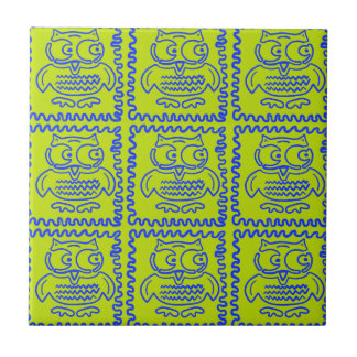Modelo de zigzag azulverde de la cal colorida de l azulejos ceramicos