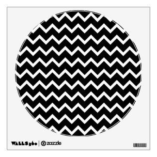 Modelo de zigzag blanco y negro