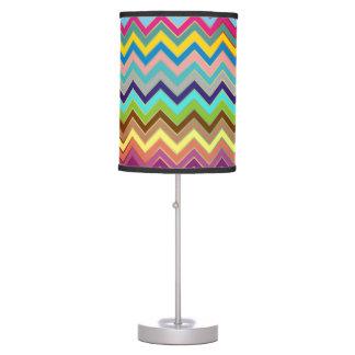 Modelo de ZIGZAG - coloreado + sus ideas Lámpara De Mesilla De Noche