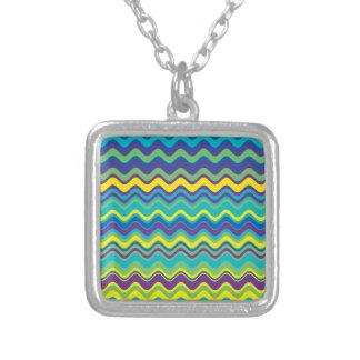 Modelo de zigzag colorido de la onda pendiente