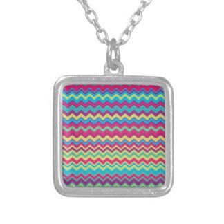 Modelo de zigzag colorido de la onda grimpolas