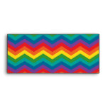Modelo de zigzag de Chevron del arco iris