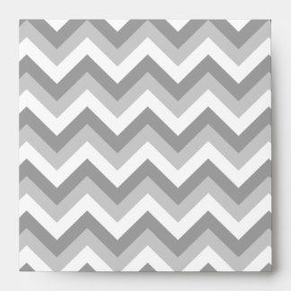 Modelo de zigzag gris y blanco sobre