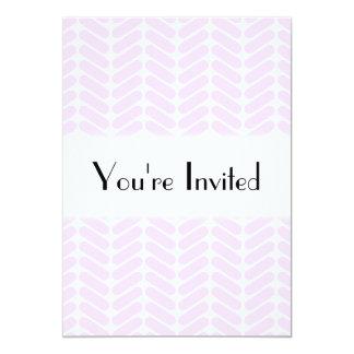 """Modelo de zigzag púrpura en colores pastel invitación 5"""" x 7"""""""