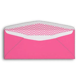 Modelo de zigzag rosado elegante del galón