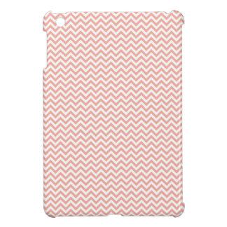 Modelo de zigzag rosado rojo coralino lindo del ga