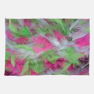 Modelo decorativo colorido de las plumas