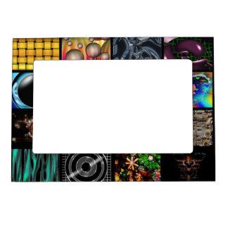Modelo decorativo de los arte pop marcos magnéticos de fotos