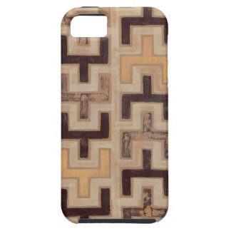 Modelo decorativo de Mudcloth del africano iPhone 5 Case-Mate Cárcasas