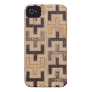 Modelo decorativo de Mudcloth del africano iPhone 4 Carcasa