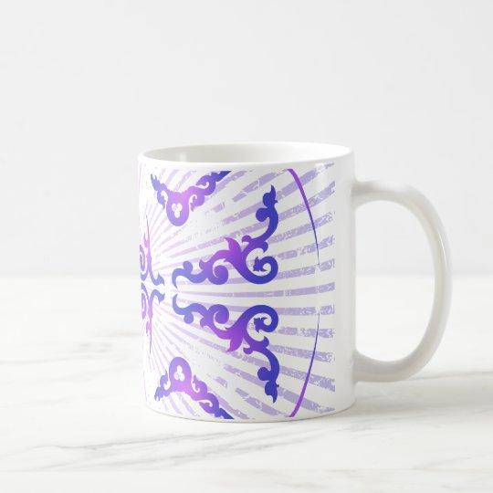 Modelo decorativo: Dibujo del vector: Taza De Café