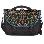 Modelo decorativo floral bolsas para portátil