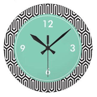 Modelo decorativo grande del extracto del reloj de