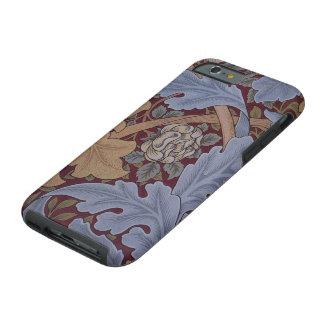Modelo del Acanthus de San Jaime de William Morris Funda De iPhone 6 Tough