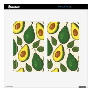Modelo del aguacate skin para kindle fire