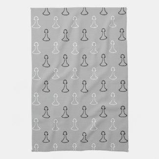 Modelo del ajedrez toallas de mano