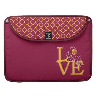 Modelo del amor el   Quatrefoil de ASU Fundas Macbook Pro