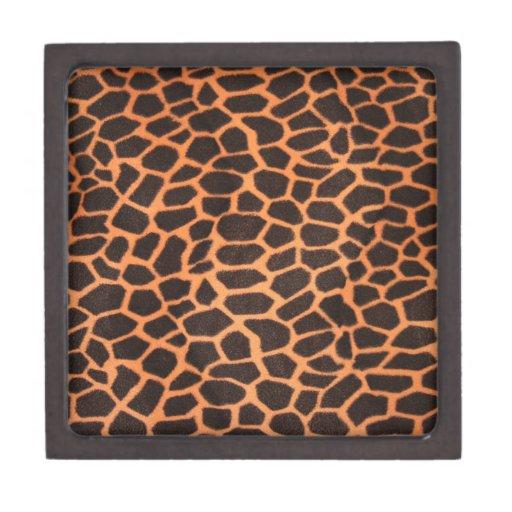 Modelo del animal de Brown y del naranja Caja De Joyas De Calidad