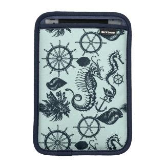 Modelo del animal de mar del vintage funda de iPad mini