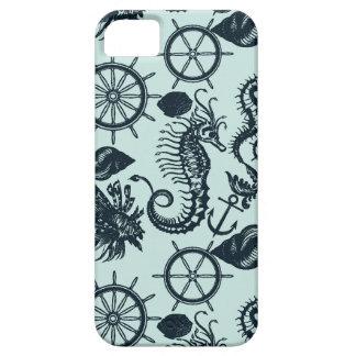 Modelo del animal de mar del vintage funda para iPhone SE/5/5s