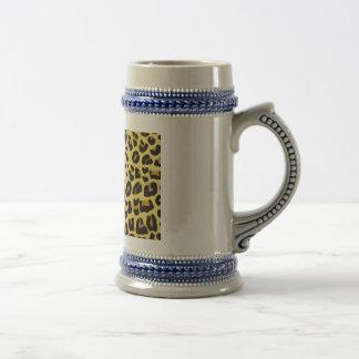 Modelo del animal salvaje tazas de café