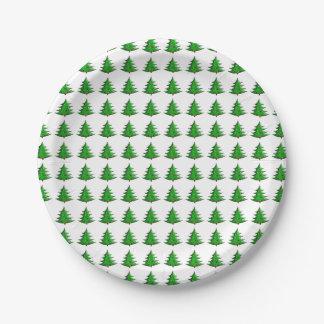 Modelo del árbol de navidad del dibujo animado