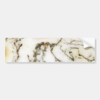 Modelo del arte abstracto de la ágata del árbol -  pegatina para auto