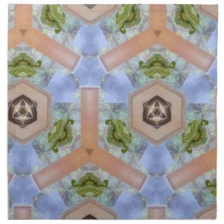 Modelo del arte moderno servilletas