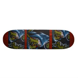 Modelo del ataque del tiburón - monopatín fresco d skateboard