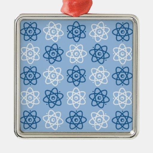 Modelo del átomo ornamento de navidad