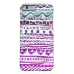 Modelo del Azteca de la lila Funda Para iPhone 6 Barely There