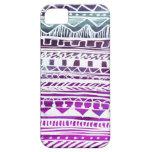 Modelo del Azteca de la lila iPhone 5 Carcasa