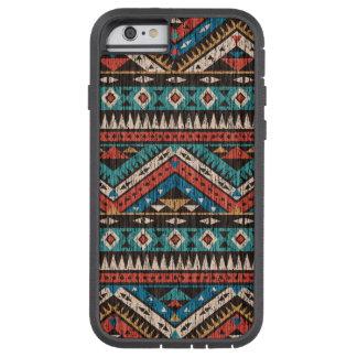 Modelo del Azteca del vintage Funda De iPhone 6 Tough Xtreme