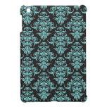 Modelo del azul del papel pintado del vintage del  iPad mini coberturas