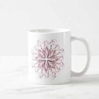 Modelo del ballet (rosa) taza de café
