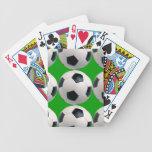 Modelo del balón de fútbol baraja