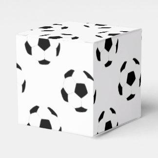 Modelo del balón de fútbol cajas para regalos de fiestas