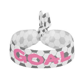 Modelo del balón de fútbol del fútbol del chica banda para el cabello