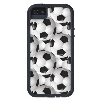 Modelo del balón de fútbol iPhone 5 Case-Mate protector
