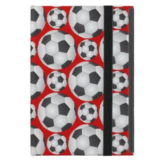 Modelo del balón de fútbol iPad mini carcasa