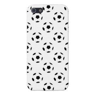 Modelo del balón de fútbol iPhone 5 funda
