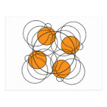 Modelo del baloncesto 4 - 3D Postal