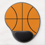 Modelo del baloncesto - alfombrillas de ratón con gel
