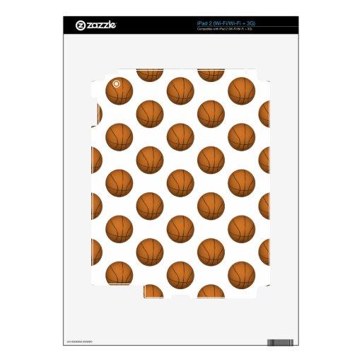 Modelo del baloncesto calcomanía para iPad 2