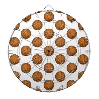 Modelo del baloncesto tabla dardos