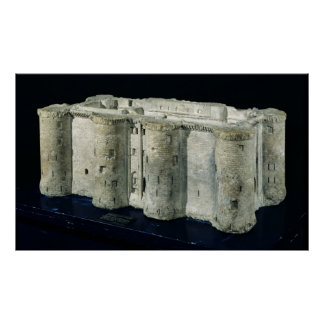 Modelo del Bastille Póster