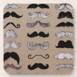 Modelo del bigote posavasos